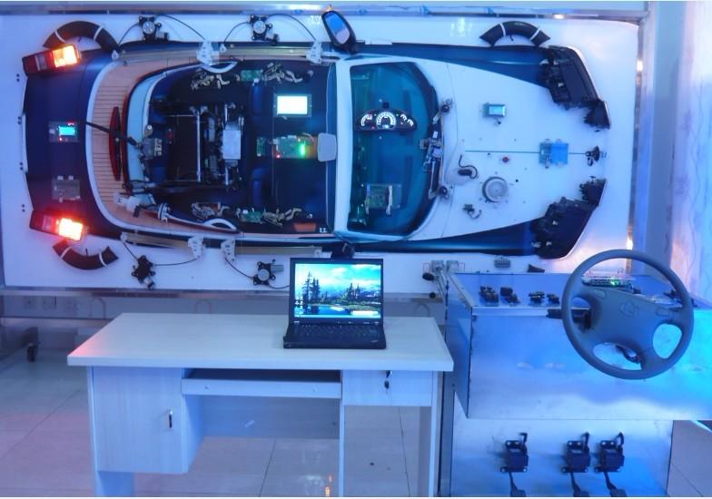 汽车电子can总线实验教学系统(展板台架)